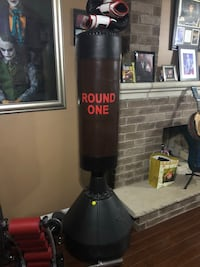 Punching bag with UFC boxing gloves  Mississauga, L4Z 1C9
