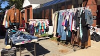 Garage sale Durham, 04222