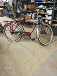 red and gray cruiser bike Milton, L9T 4X1