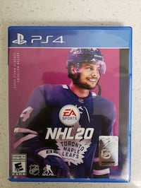 PS4 NHL 20 game New Kitchener, N2N 1T3