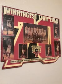 Winningest team ever Chicago Bulls poster