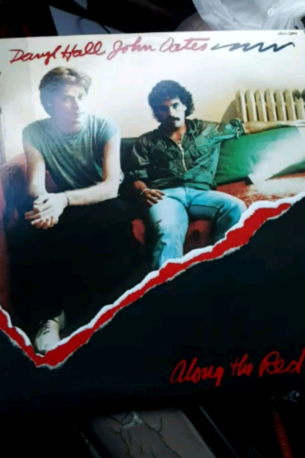 Daryl Hall John Oates Along the Red Ledge vinyl re