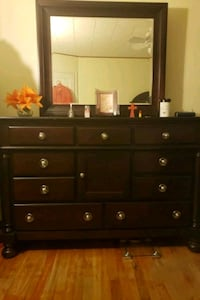 Dresser and night stand some scratches on top. Baltimore, 21213