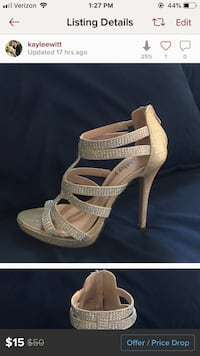 Cathy Jean sparkly heels size 7.5 Henderson, 89014