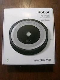 Black and Gray iRobot Roomba vacuum cleaner box District Heights, 20747