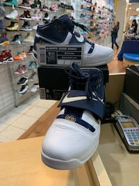 Nike Lebron Soldier 1 25 Straight Size 8 Silver Spring, 20902