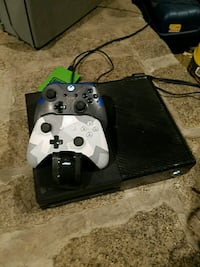 Xbox One console 1Tb with 2 controllers and game North East, 21901