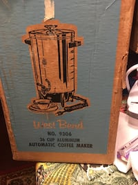 West bend 36 cup coffee maker Knoxville, 37932