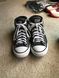 Pair of black converse all star high-top sneakers Woodridge, 60517