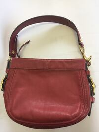 Red leather coach purse, great condition  Windsor, N9J 3L1