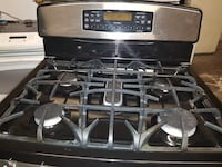 gray and black 5 burner gas range Temple Hills, 20748
