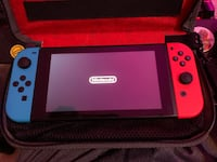 Nintendo Switch Neon Red and Blue Mississauga