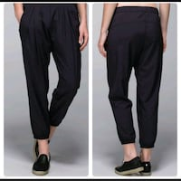 Lululemon Black Semi Pleat Front Jogger Pant Falls Church