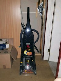 black Bissell upright vacuum cleaner Kelowna
