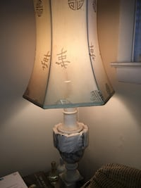 Large Marble Table Lamp