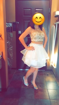White and gold dress Summerville, 30747