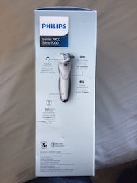 BRAND NEW IN BOX White and gray philips shaver  Langley, V3A 3V3