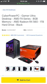 New Gaming Computer Frederick