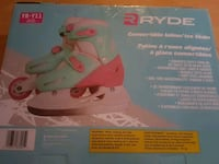 Convertible  inline ice skate