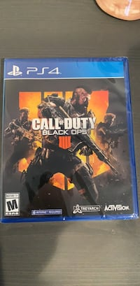 Blacks Ops 4 PS4 UNOPENED Huntington Beach, 92647
