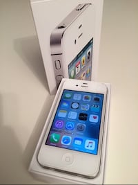 iPhone 4S Hvit 16GB 6283 km