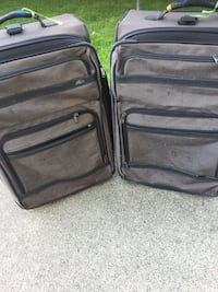 two black soft-side luggage Garden City, 48135