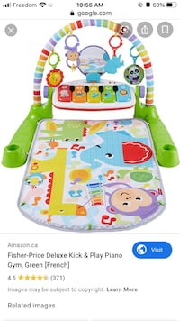 French version piano play mat