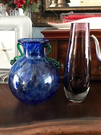 Blown glass vases Beaconsfield, H9W