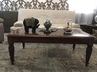 $75!!! Coffee Table With Side Table Real Wood Las Vegas, 89148