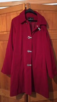 red button-up coat Toms River, 08753