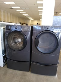 Kenmore Washer and dryer with pedestal Bowie, 20715