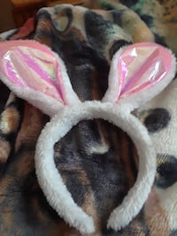 white and pink bunny themed headband Silver Spring, 20902