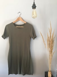 Dynamite Olive Green Top