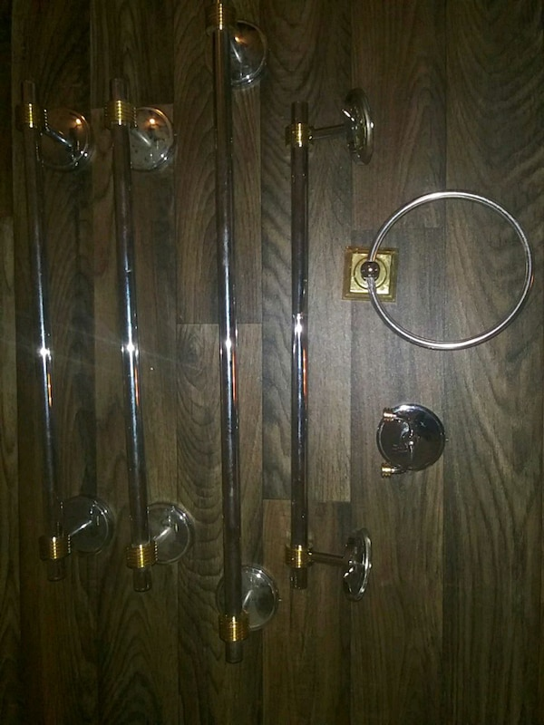 Used Gold And Silver Bathroom Accessories For Sale In Atlanta Letgo