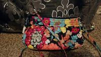 women's multicolored floral printed sling bag