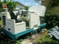 8400 tenant  - Sweeper and scrubber - 2000 Opa-locka, 33054