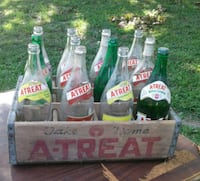 A-TREAT Bottles with Crate