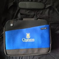 Queen's University Laptop Documents Messenger Bag KINGSTON