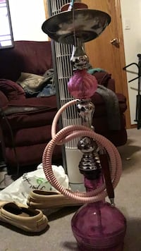 Rarely used Pink Hookah Sherwood Park, T8A 5M2