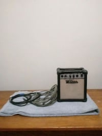 2 Amp cables and guitar amp Waukesha, 53186