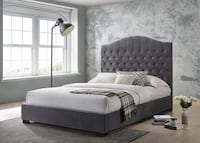 Brand new in box queen platform bed Mississauga