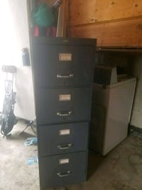 Grey 4-drawer filing cabinet Edmonton, T6L 4W7