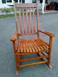 Vintage Look Wooden Rocking Chair Union, 07083