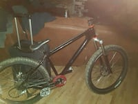 black and red hardtail mountain bike Surrey, V3W 2X3