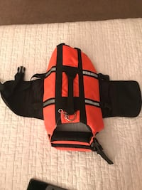 Sport Harness for small dog breed or puppy training. High Quality. HiVis, Blaze Orange