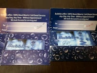 $400 worth of Bubles Gift Cards Edmonton, T5K 1M1