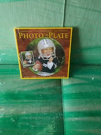 Photo Plate Decoration