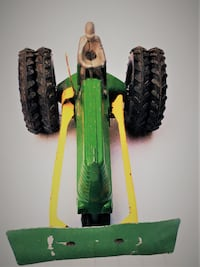 SLIK-TOYS Farmers Tractor with Plough