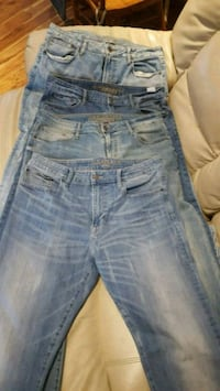 blue denim distressed denim jeans Hamilton, L8T 3W9