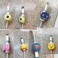 Cartoon cord protectors to prolong the life of your charging cords! Murrieta, 92562